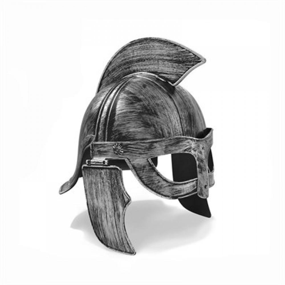 300 Spartalı Başlığı Gümüş Renk