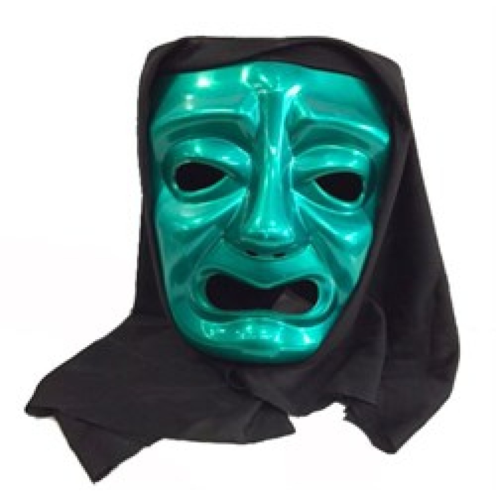 Ağlayan Tiyatro Maskesi Yeşil