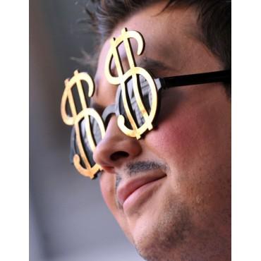 Altın Renk Dolar Gözlük