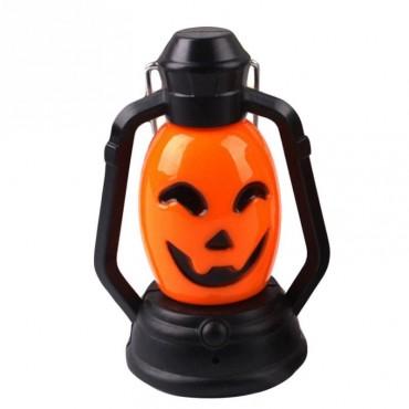Cadılar Bayramı Halloween Işıklı Balkabağı Fener Dekor