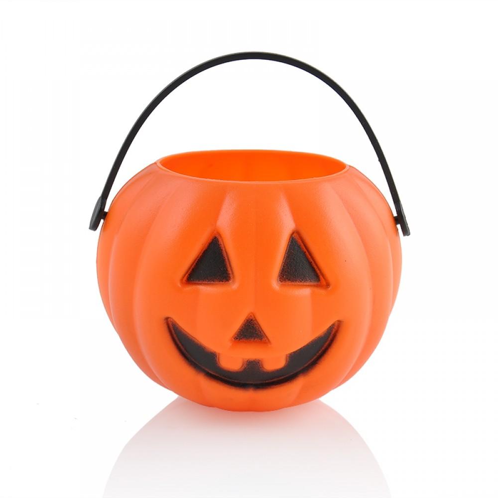 Cadılar Bayramı Halloween Işıklı Balkabağı Sepeti Çantası
