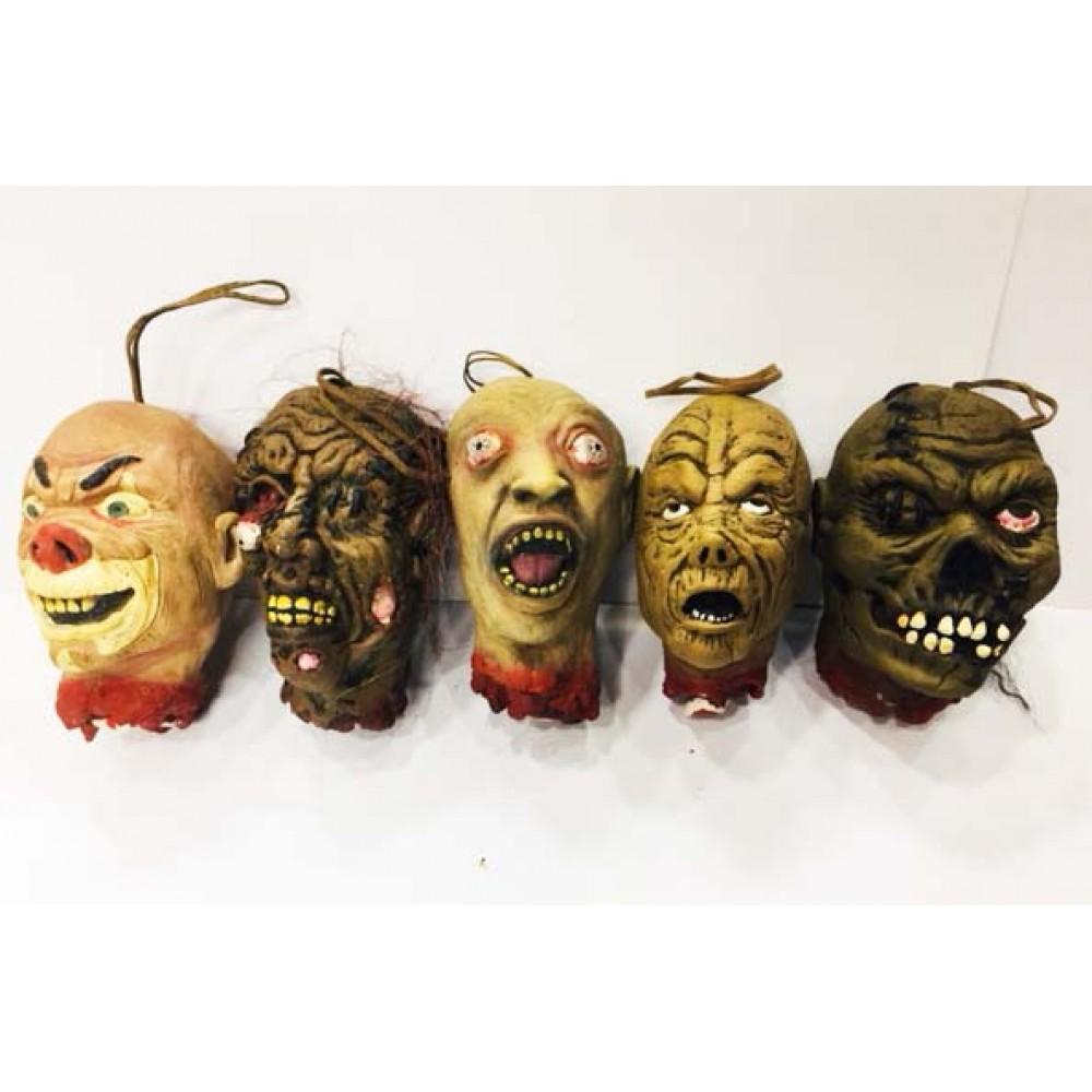 Cadılar Bayramı Halloween Kesik Başlar Dekor