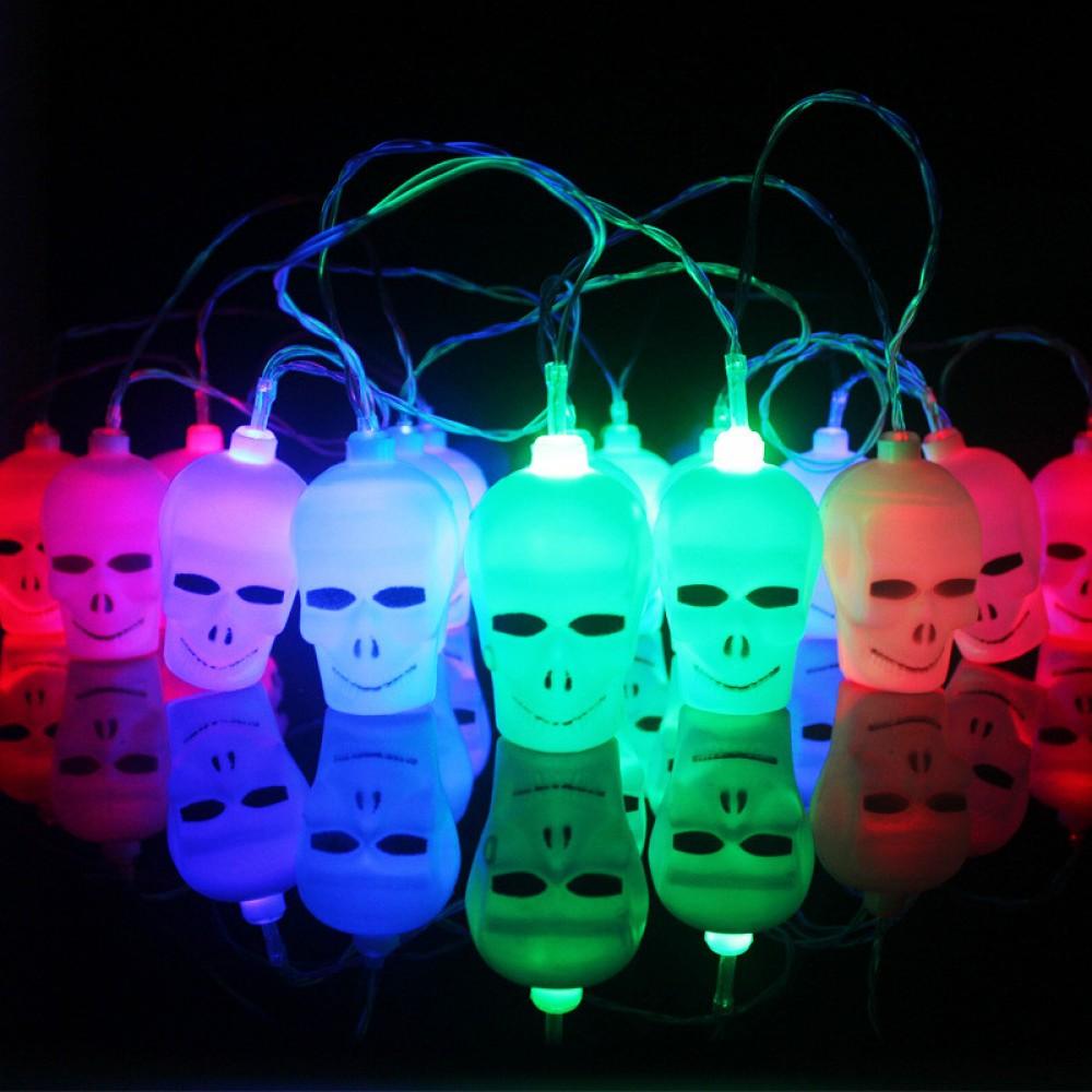 Cadılar Bayramı Halloween Kurukafa Işık Dekor Süs