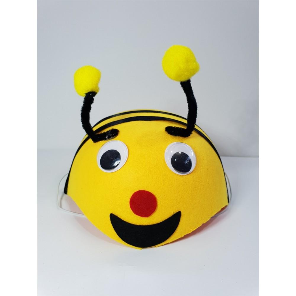 Çocuk Arı Şapkası Arı Başlığı
