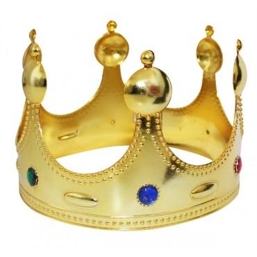 Çocuk Kral Tacı Altın Renk