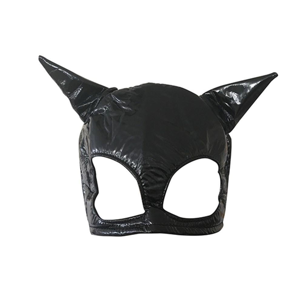 Deri Kedi Maskesi