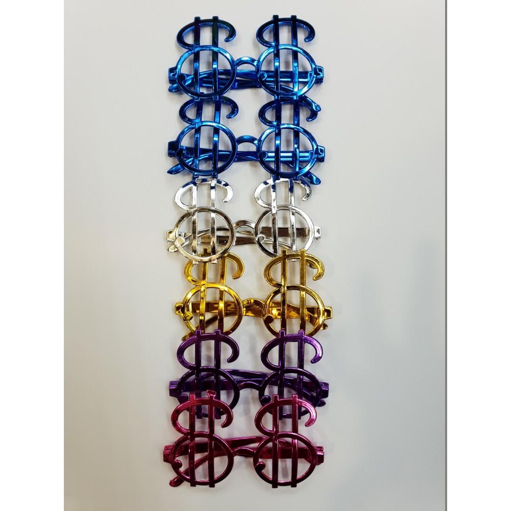Dolar Parti Gözlüğü 6 Adet