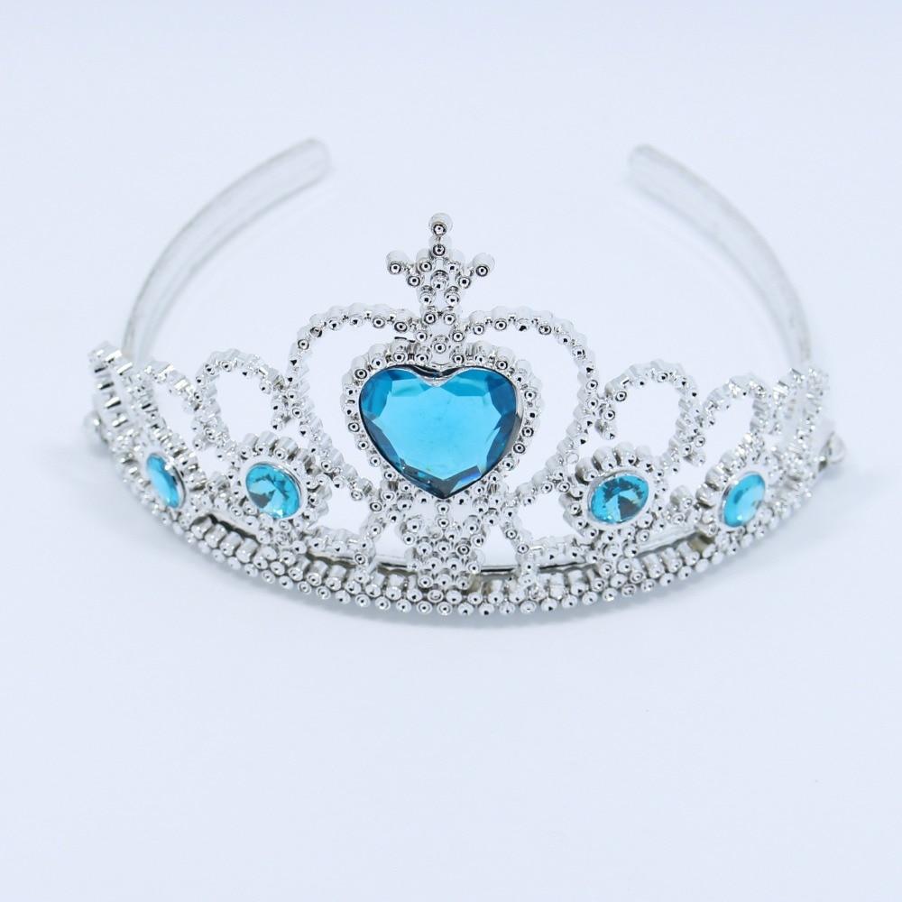 Elsa Taç Mavi Renk 12 Adet