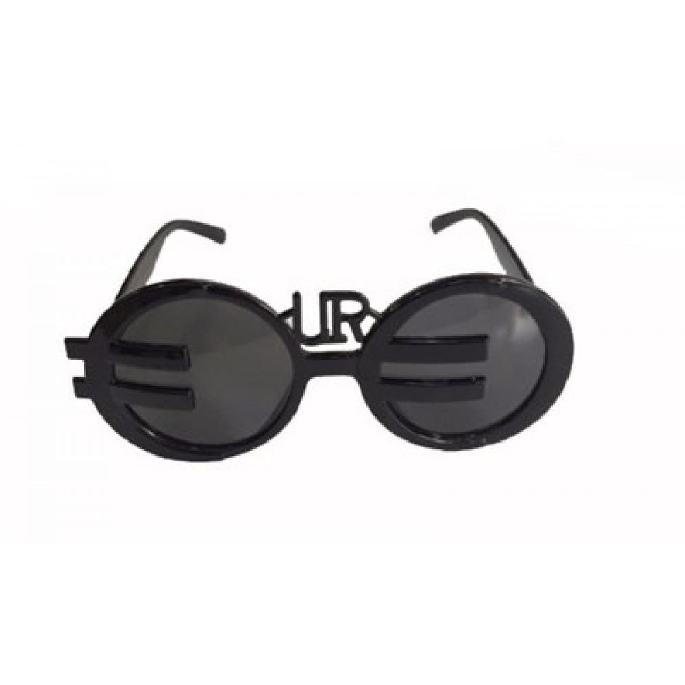 Euro Gözlük Siyah Renk Karışık 12 Adet