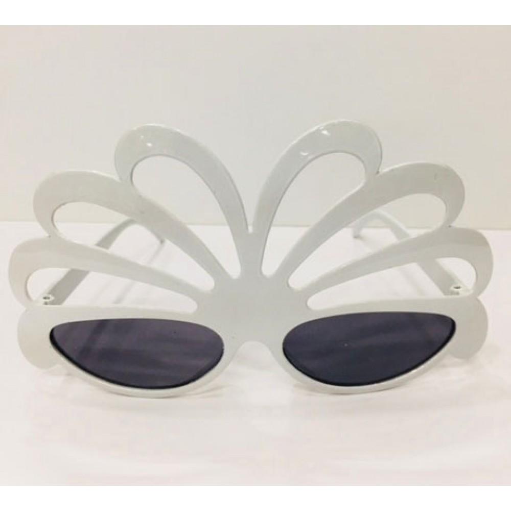 Fiyonk Parti Gözlüğü Beyaz Karışık 12 Adet