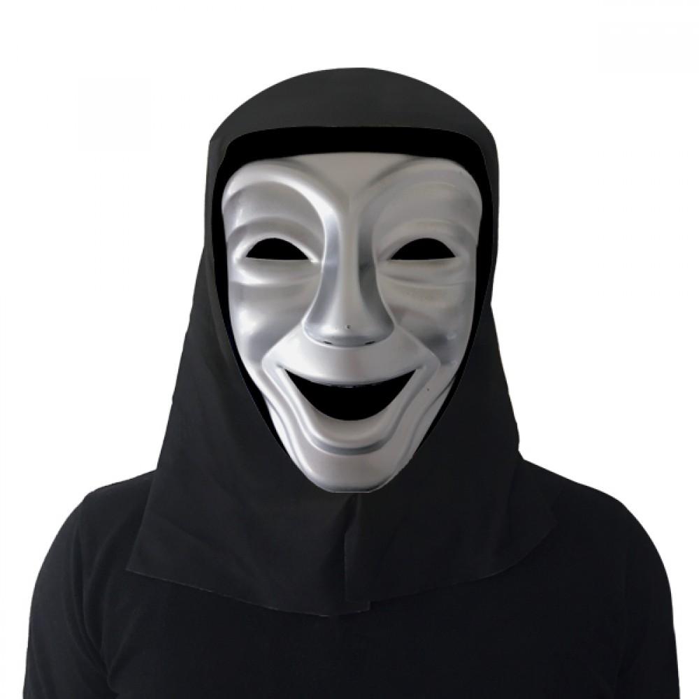 Gülen Tiyatro Maskesi Gümüş