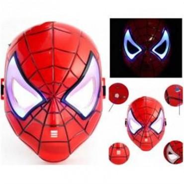 Işıklı Spiderman Maskesi