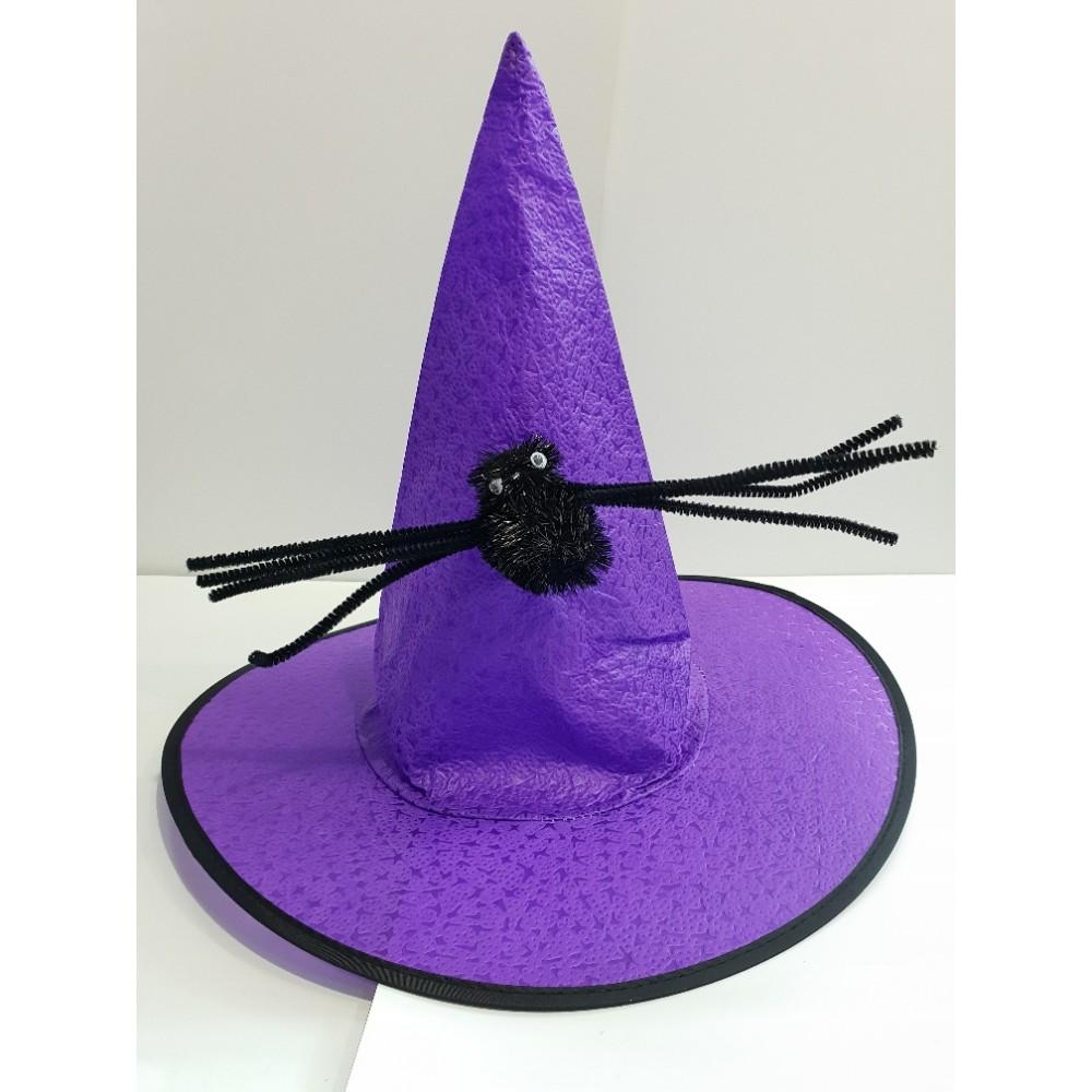 Örümcekli Cadı Şapkası