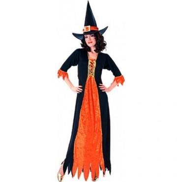 Yetişkin Cadı Kostümü 0169