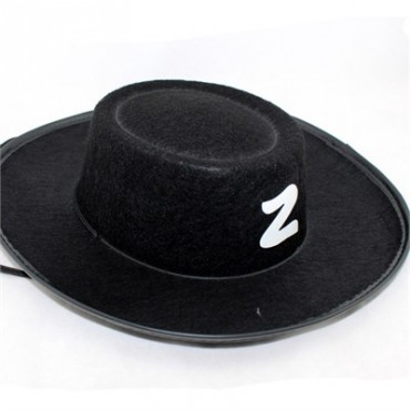 Zorro Şapkası Yetişkin