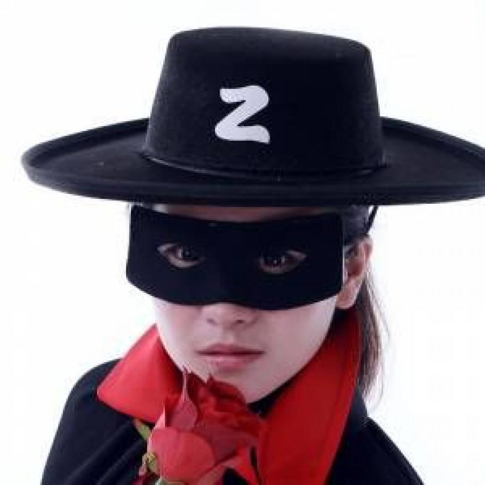 Zorro Şapkası ve Göz Maskesi