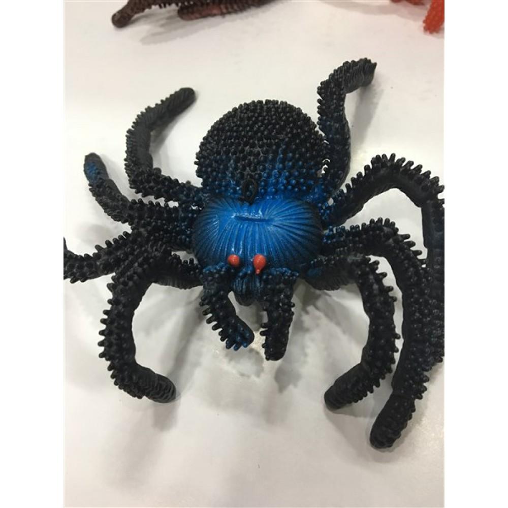 Büyük örümcek paket içi 10 adet karışık renk