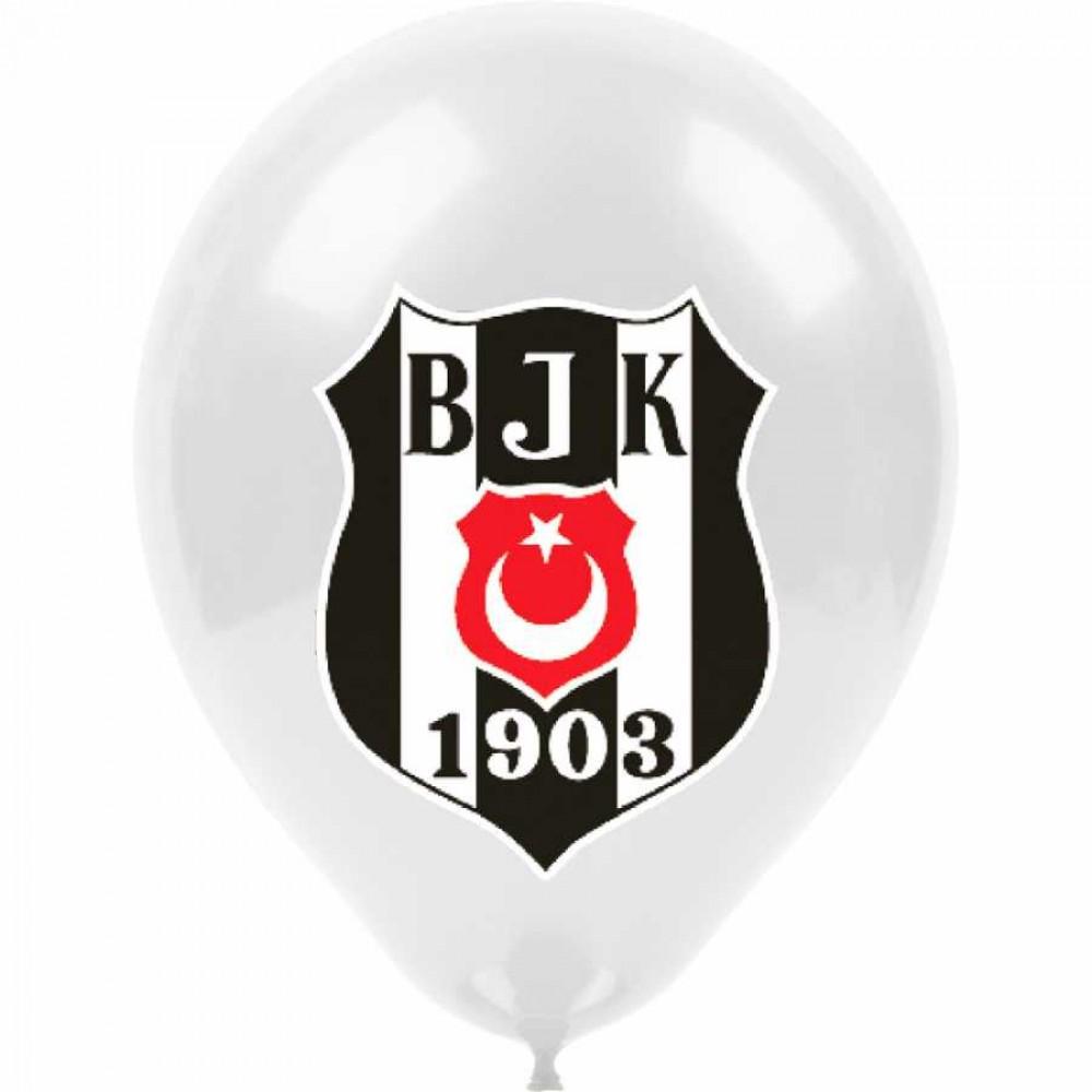 Beşiktaş Lisanslı Baskılı Balon 100\'lü