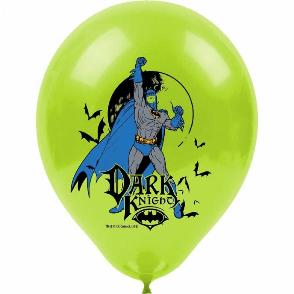 Batman Baskılı Balon 100\'lü