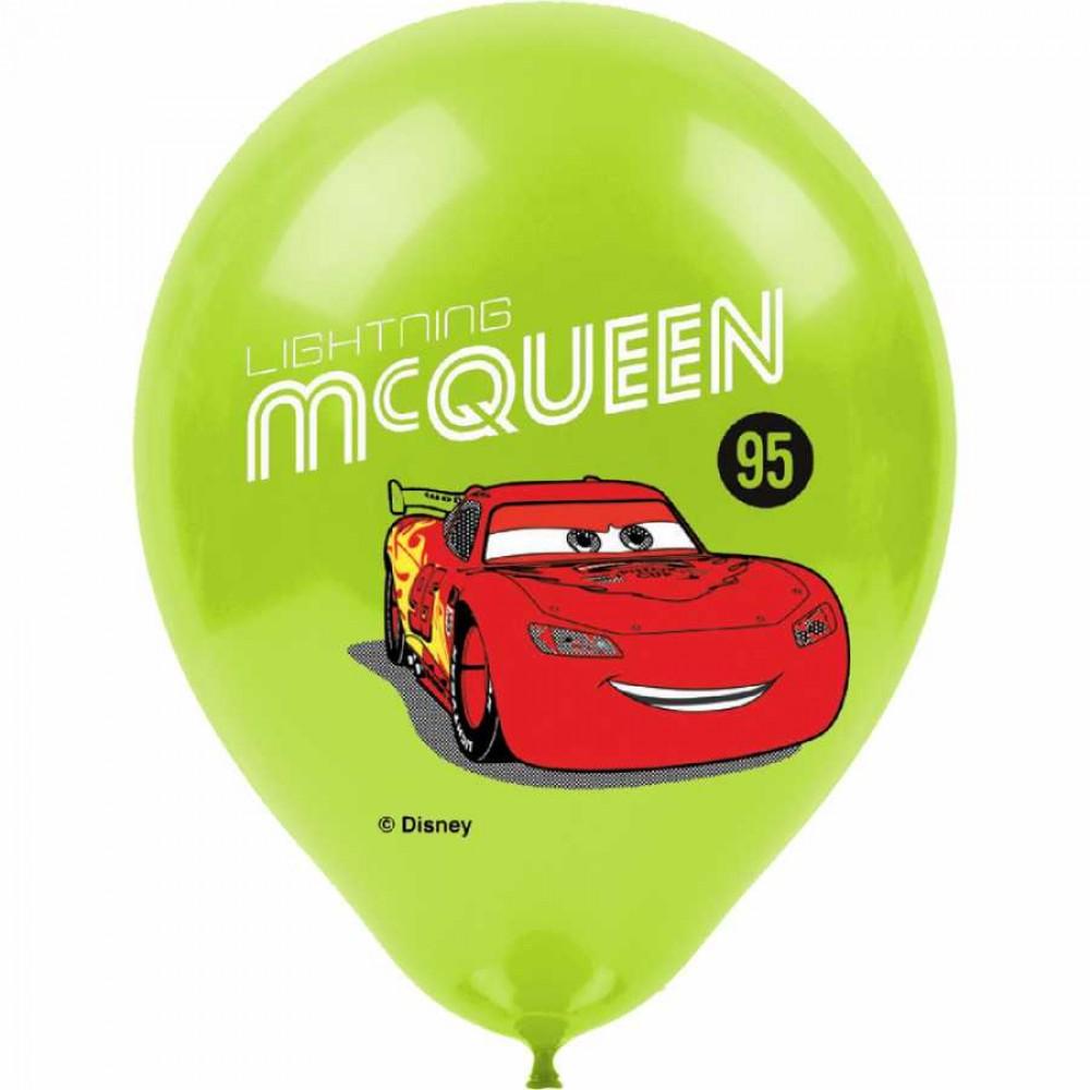 Cars Baskılı Balon 100\'lü