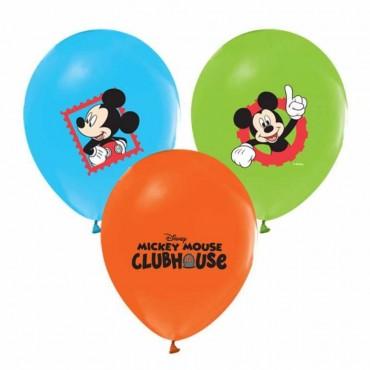 Mickey Mouse Baskılı Balon 100\'lü