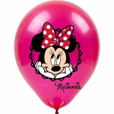 Minnie Mouse Baskılı Balon 100\'lü