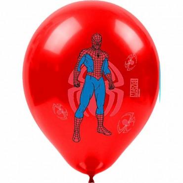 Spiderman Baskılı Balon 100\'lü