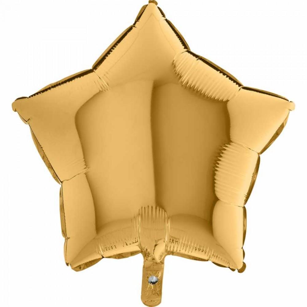 Altın Yıldız Grabo Folyo Balon 46 cm