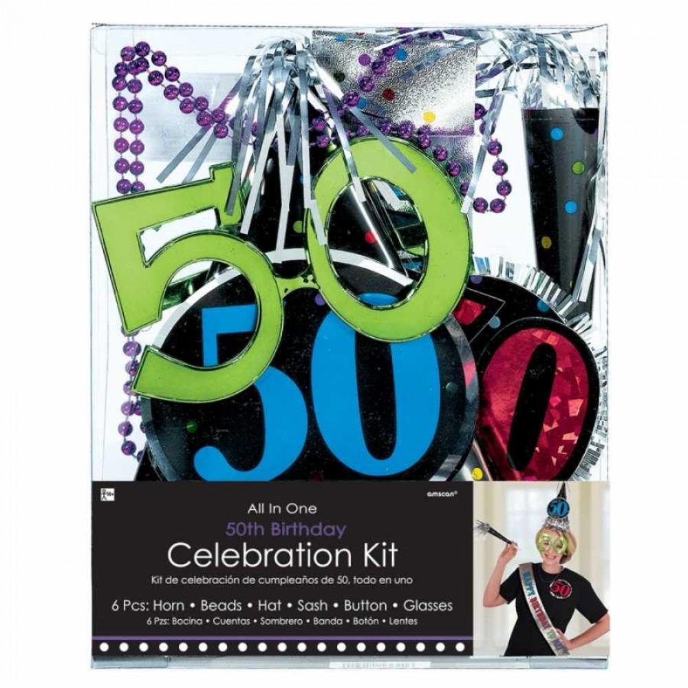 50 Yaş Doğum Günü Kutlama Seti