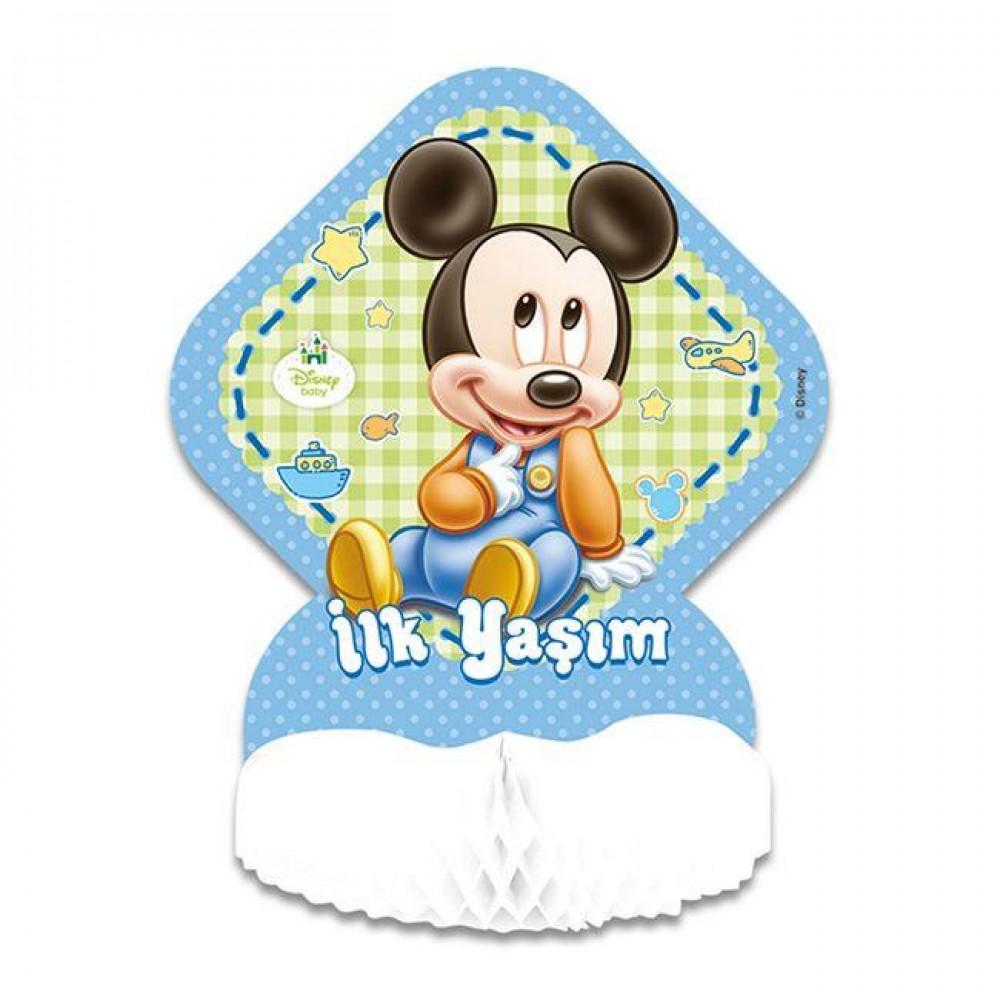 Baby Mickey Masa Ortası Süsü