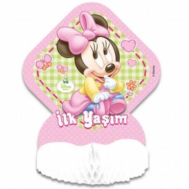 Baby Minnie Mouse Masa Ortası Süsü