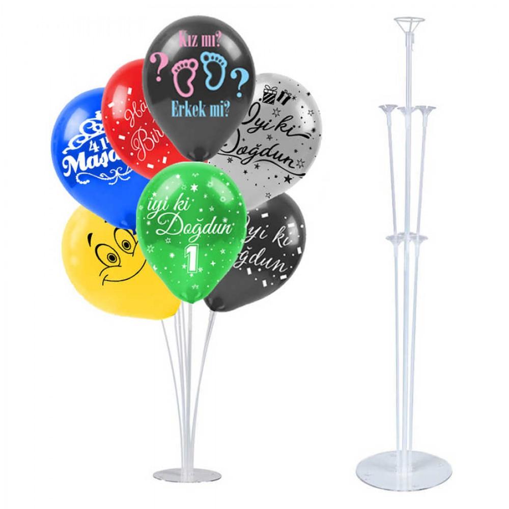 Balon Süsleme Standı 75 cm 7\'li