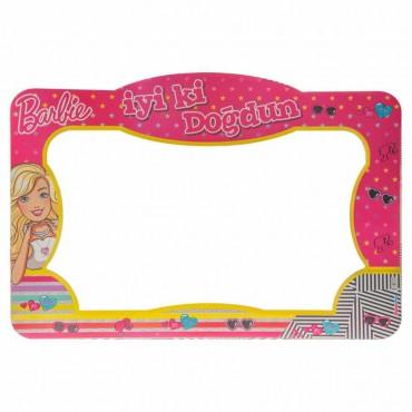Barbie Lisanslı Fotoğraf Çekme Çerçevesi