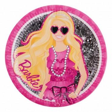 Barbie Karton Tabak 23 cm 8\'li