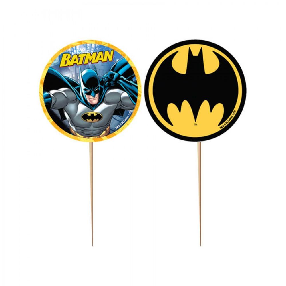 Batman Lisanslı Kürdan 10\'lu