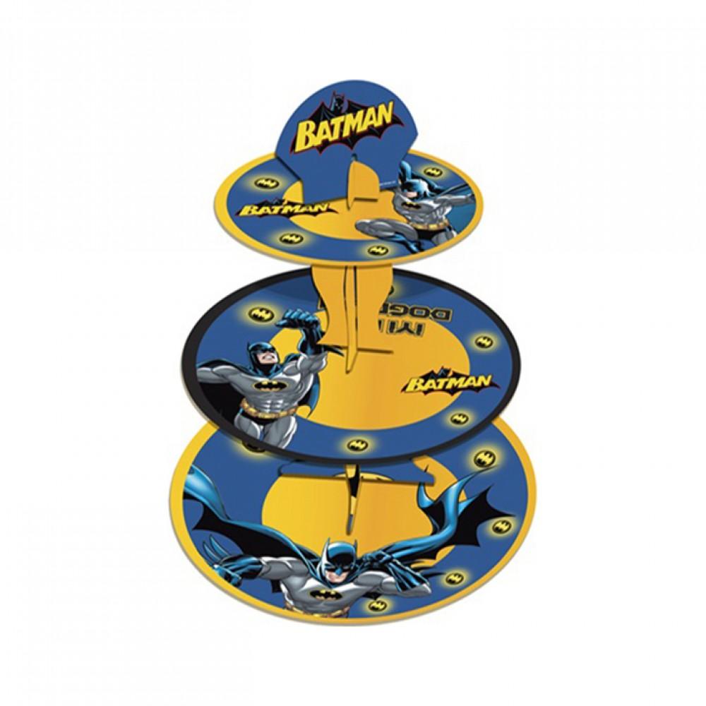 Batman Lisanslı Cupcake Standı