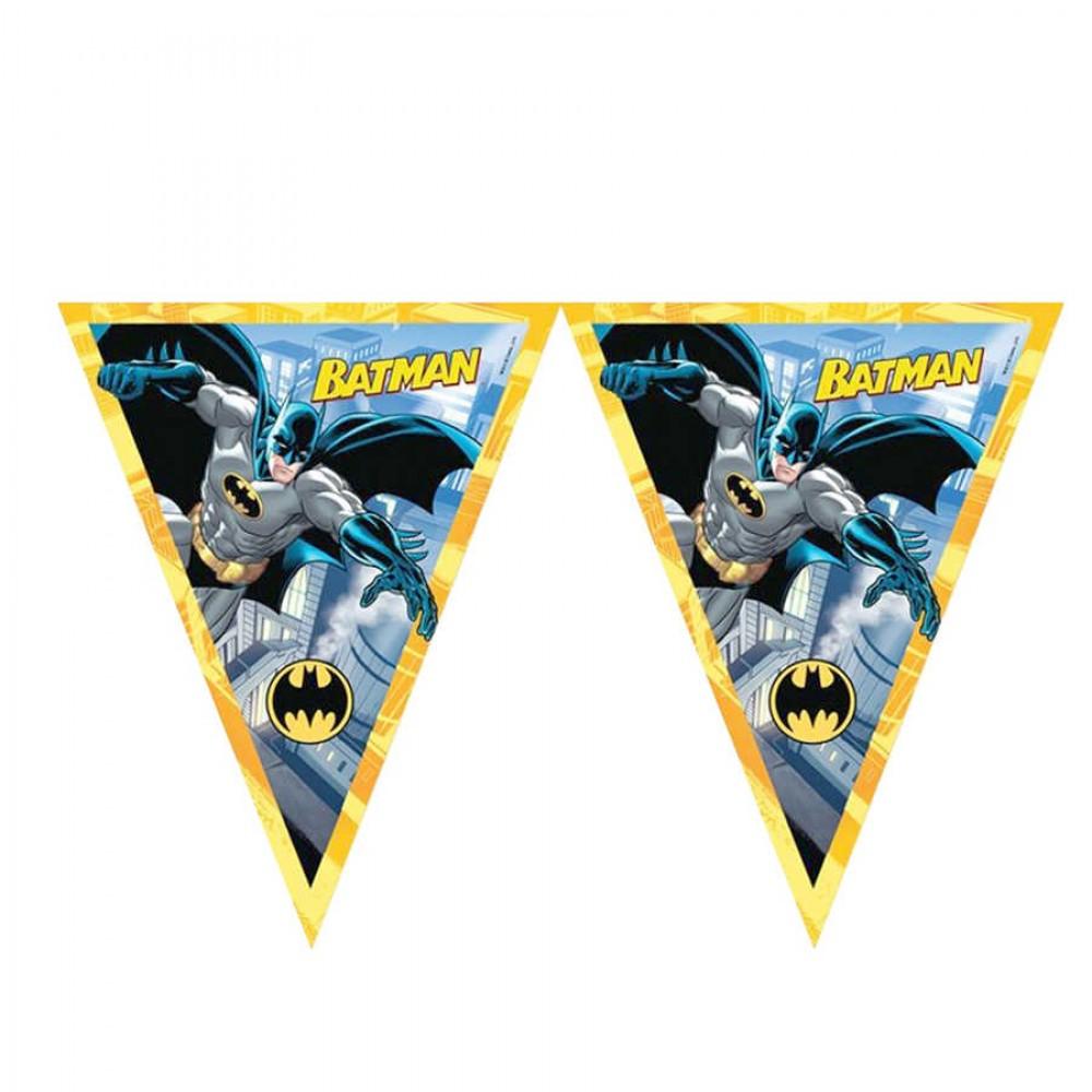 Batman Lisanslı Üçgen Bayrak Afiş