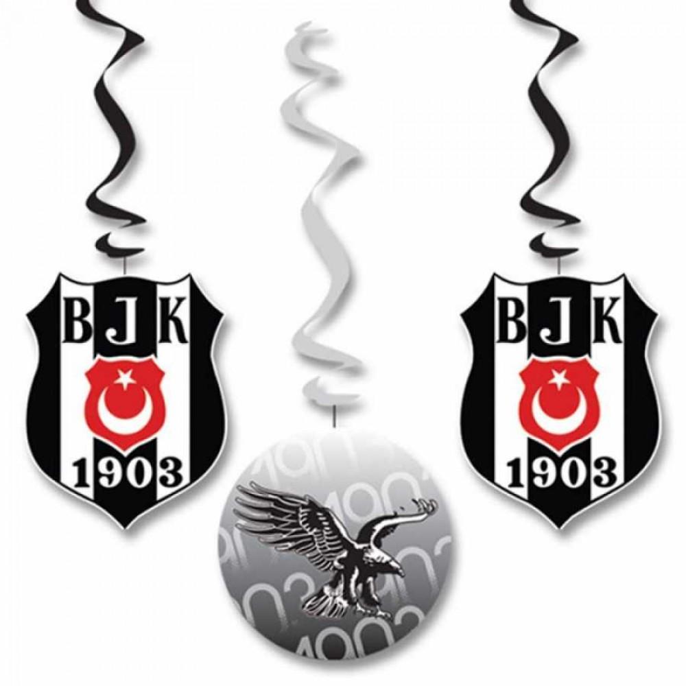 Beşiktaş Lisanslı Asma Kağıt Süs
