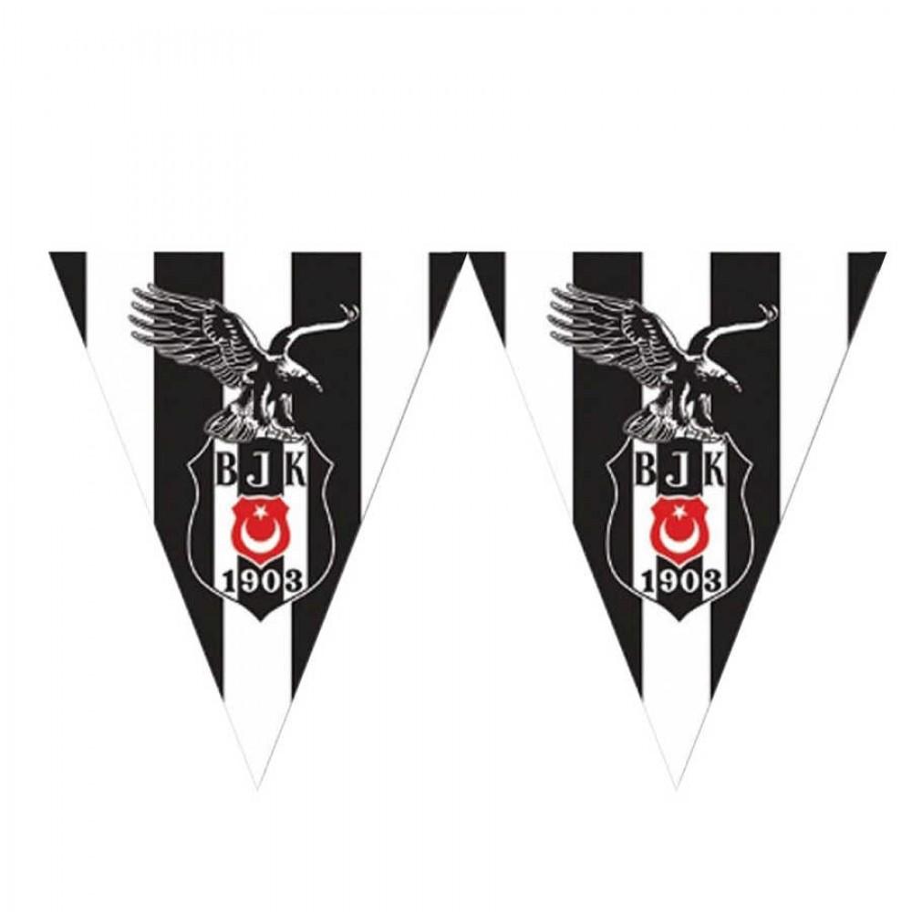 Beşiktaş Lisanslı Üçgen Bayrak Afiş