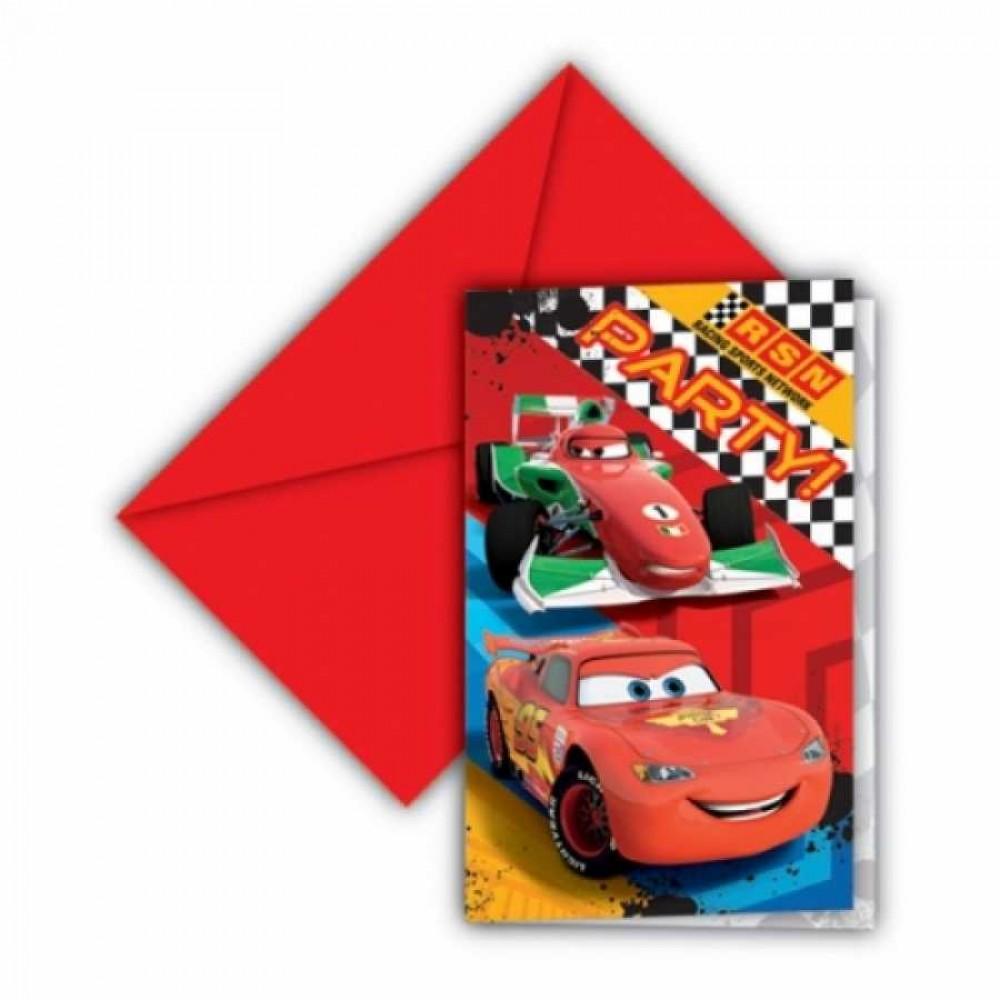 Cars Formula Davetiye