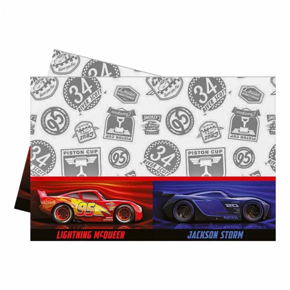 Cars The Legend Of The Track Plastik Masa Örtüsü 120x180 cm