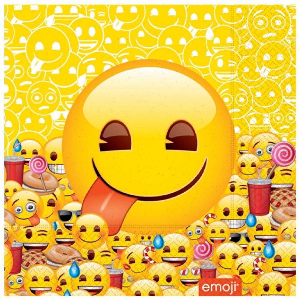 Emoji Dünyası Kağıt Peçete 33x33 cm 20\'li