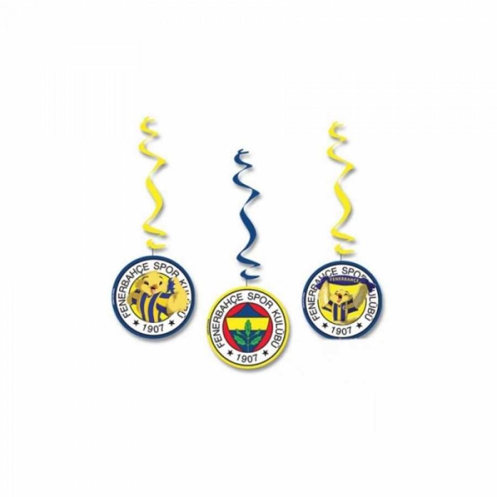 Fenerbahçe Asma Kağıt Süs