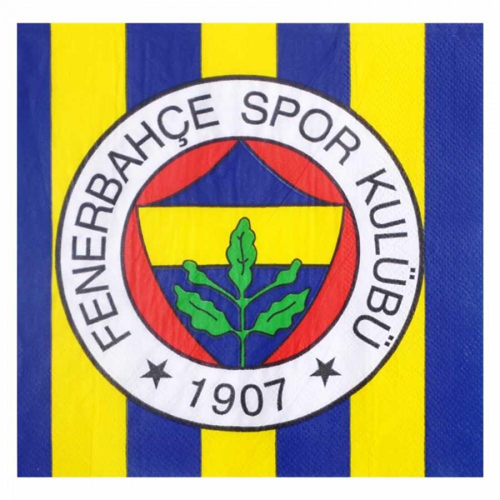 Fenerbahçe Kağıt Peçete 33x33 cm 20\'li