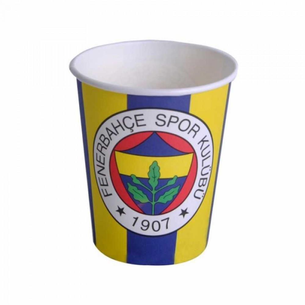 Fenerbahçe Karton Bardak 8\'li