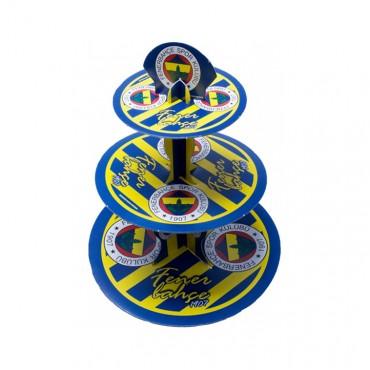 Fenerbahçe Lisanslı Cupcake Standı