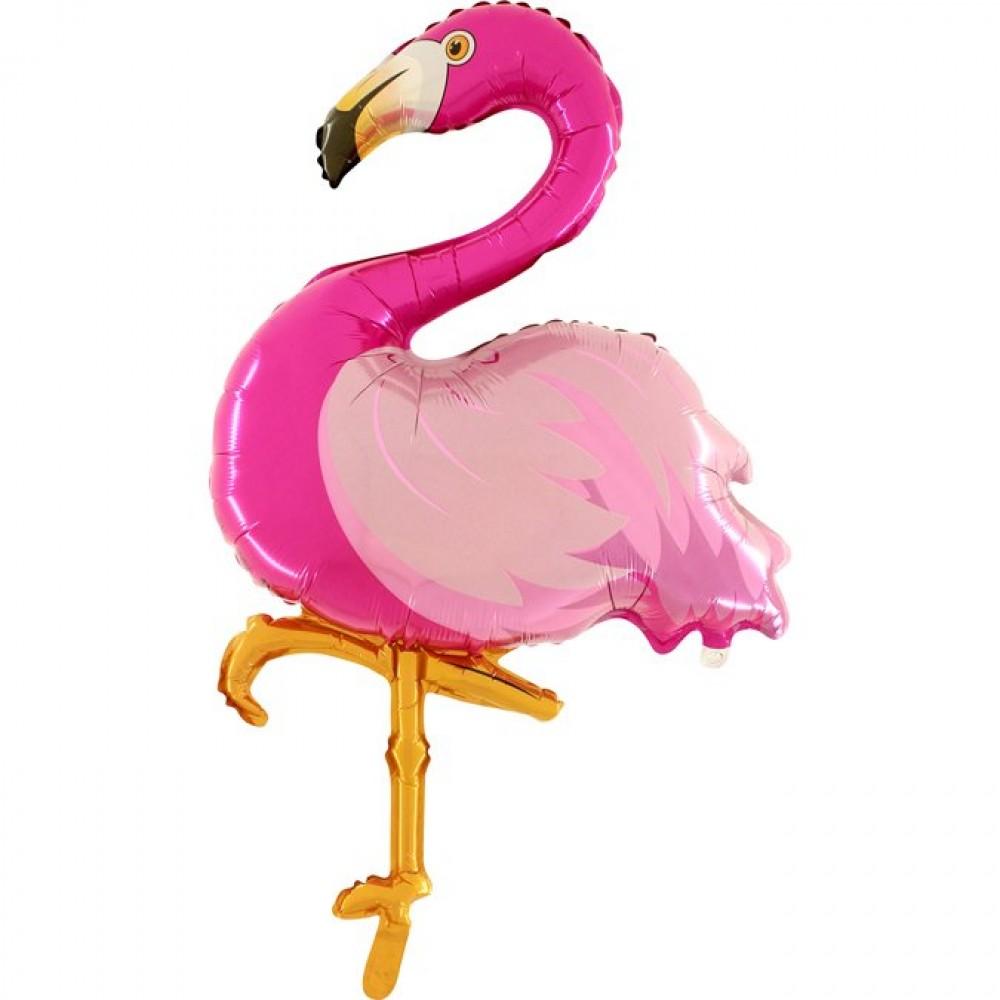 Flamingo Grabo Folyo Balon 100 cm