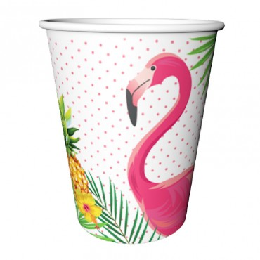 Flamingo Karton Bardak 8\'li
