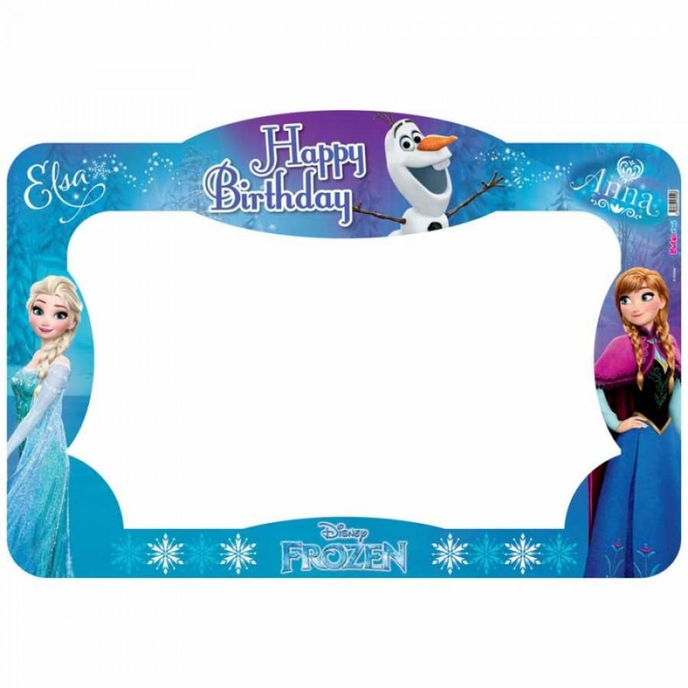 Frozen Lisanslı Fotoğraf Çekme Çerçevesi