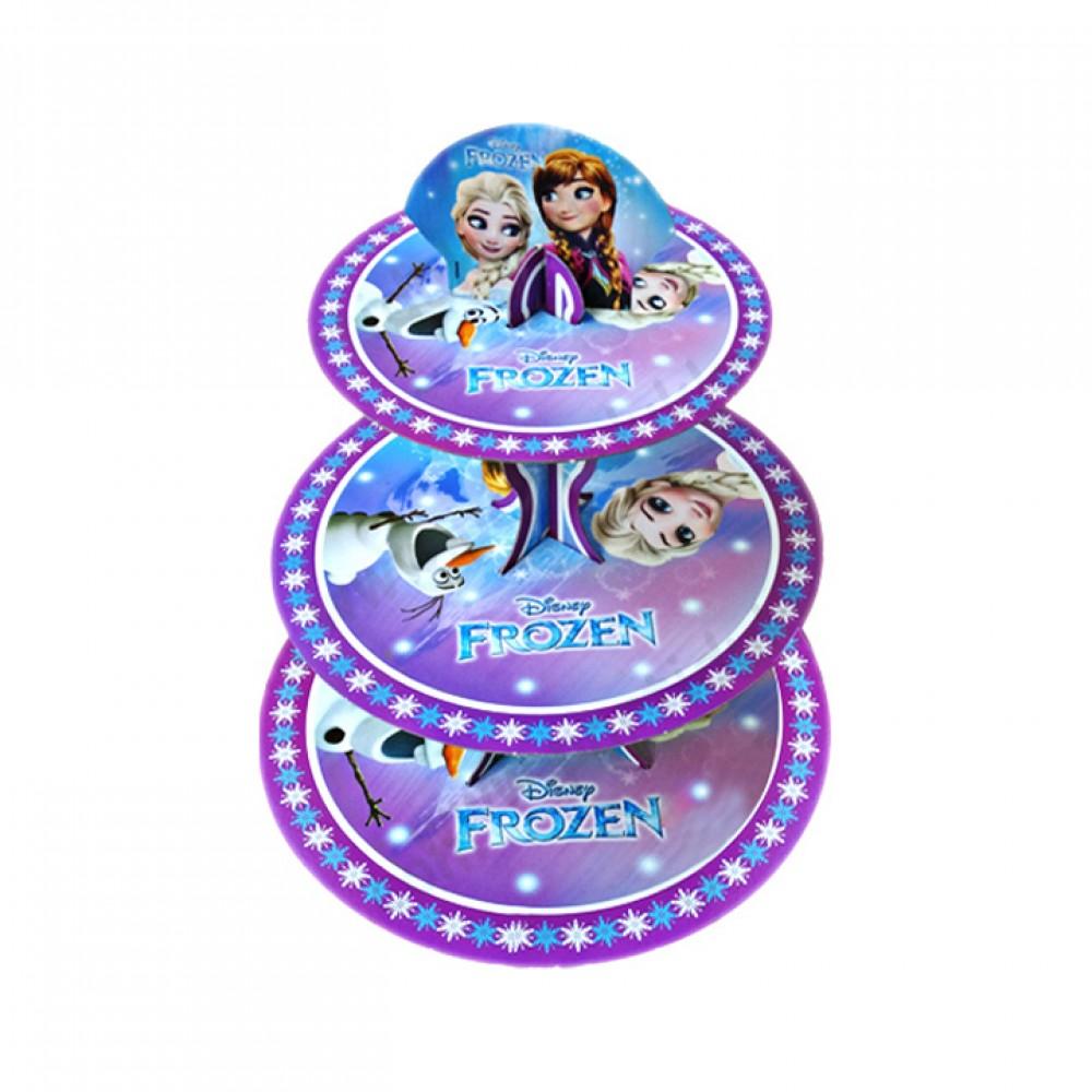 Frozen Lisanslı Cupcake Standı